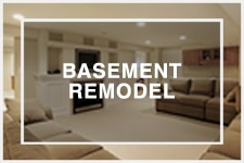 Great Lakes Construction basement remodel
