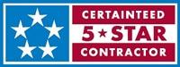 certified five star contractor