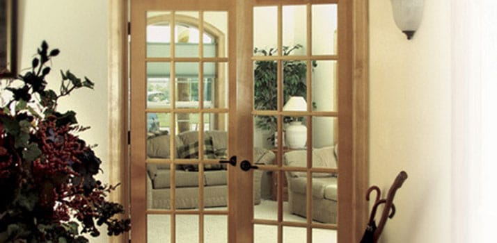 Great Lakes Construction french doors