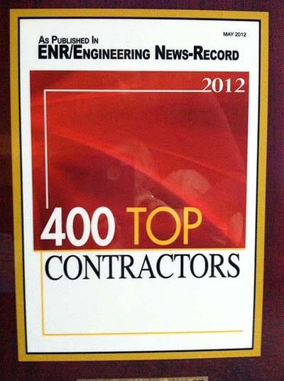 400 top contractors enr